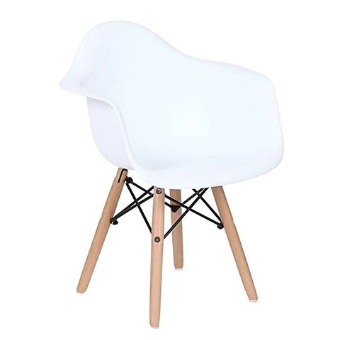 kids arm chairs leaf chair stand replica eames white deer industries