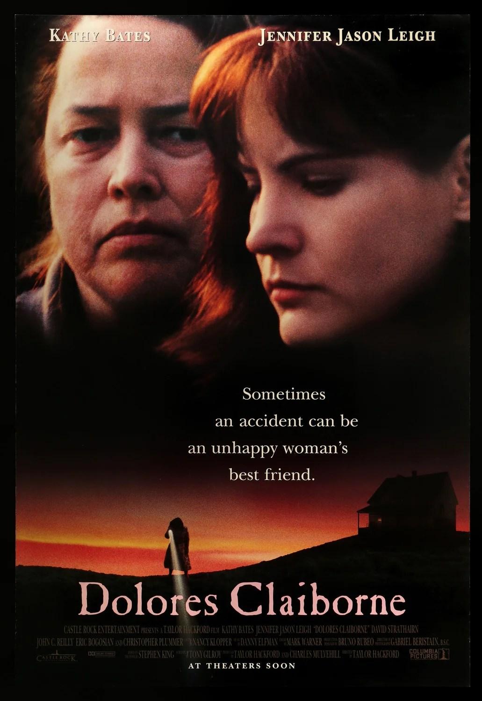 Dolores Claiborne (film) : dolores, claiborne, (film), Dolores, Claiborne, (1995), Original, One-Sheet, Movie, Poster, Vintage, Posters