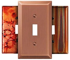 decorative wall plates and switch
