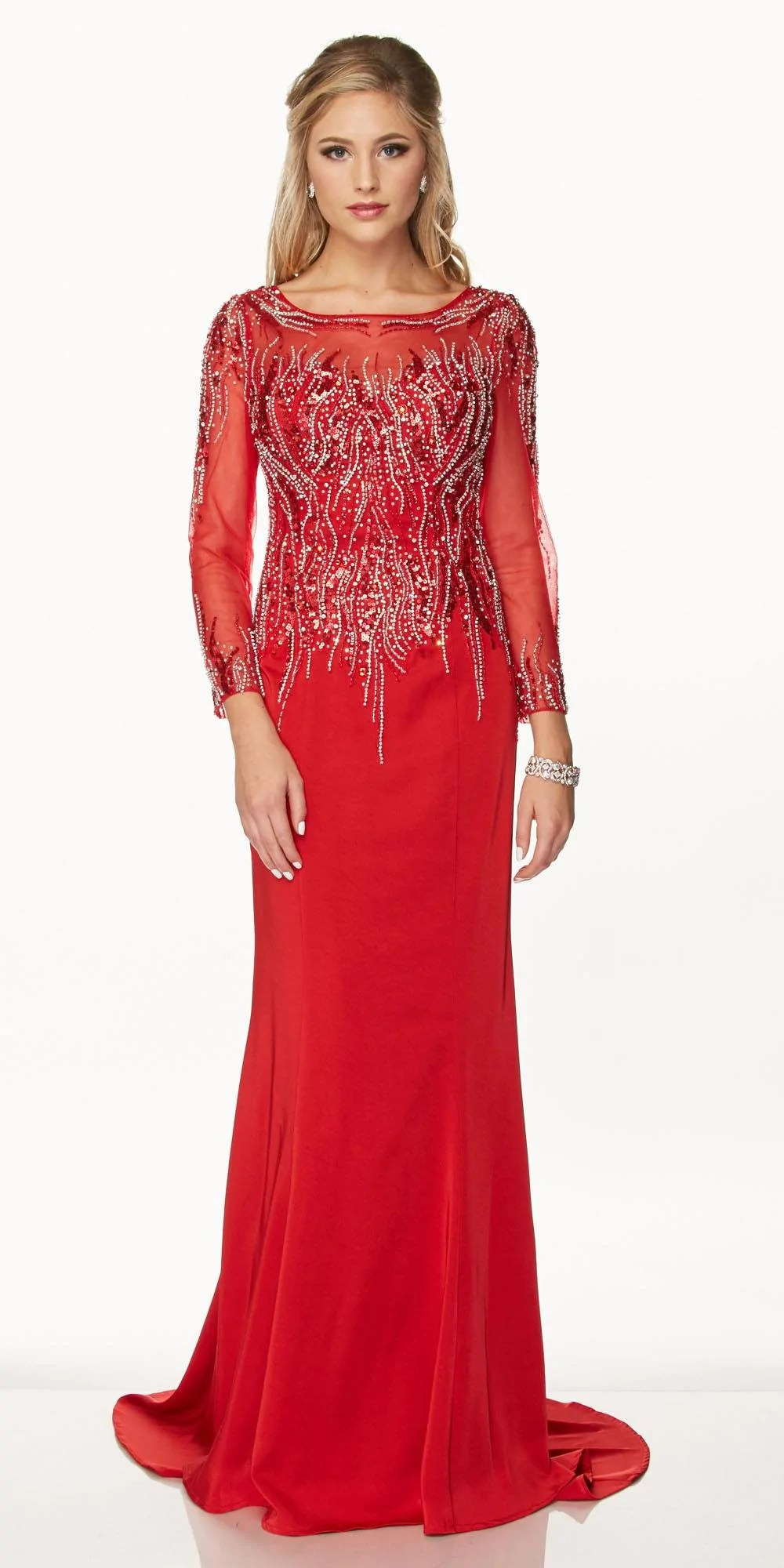 Formal Dress with Train