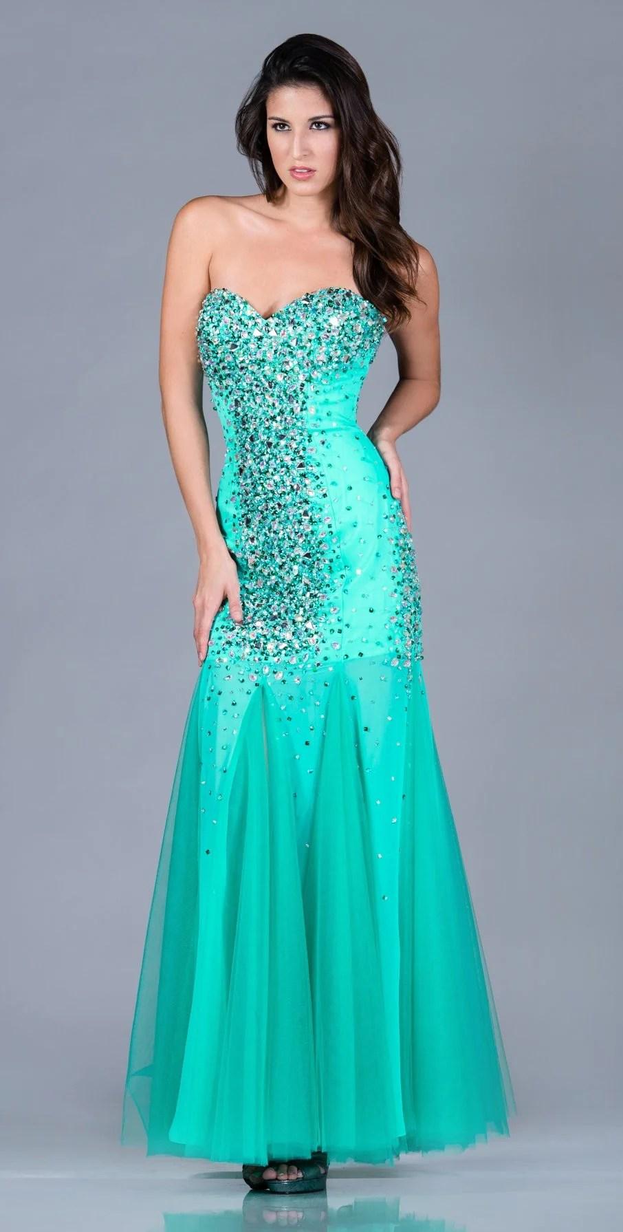 Jade Prom Dress Mermaid