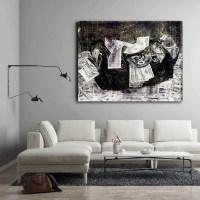 Secure The Money Bag Framed Wall Art