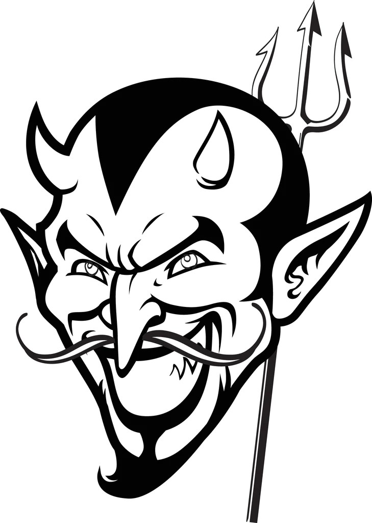 Halloween Coloring Pages Devil Coloring Pages Halloween