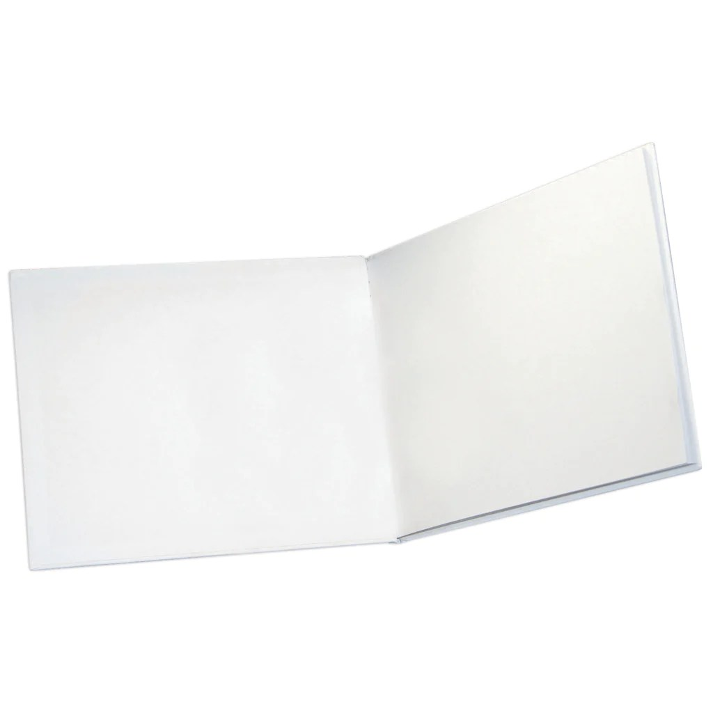 small resolution of Ashley Productions White Hardcover Blank Book