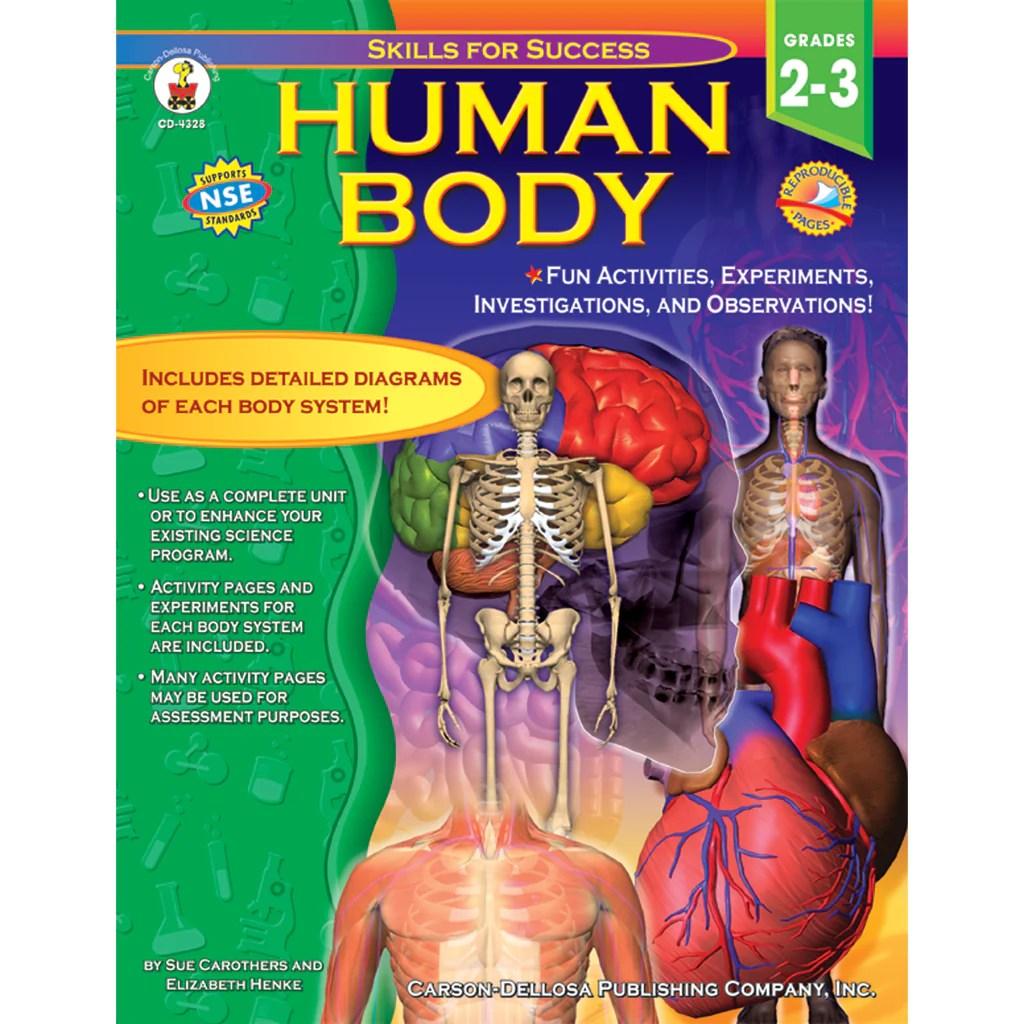 small resolution of Carson Dellosa Human Body Resource Book