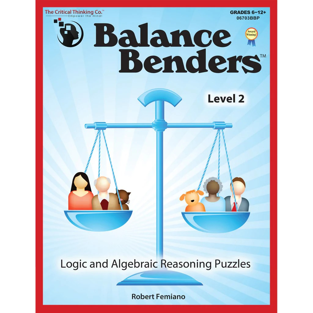 medium resolution of The Critical Thinking Co. Balance Benders Level 2