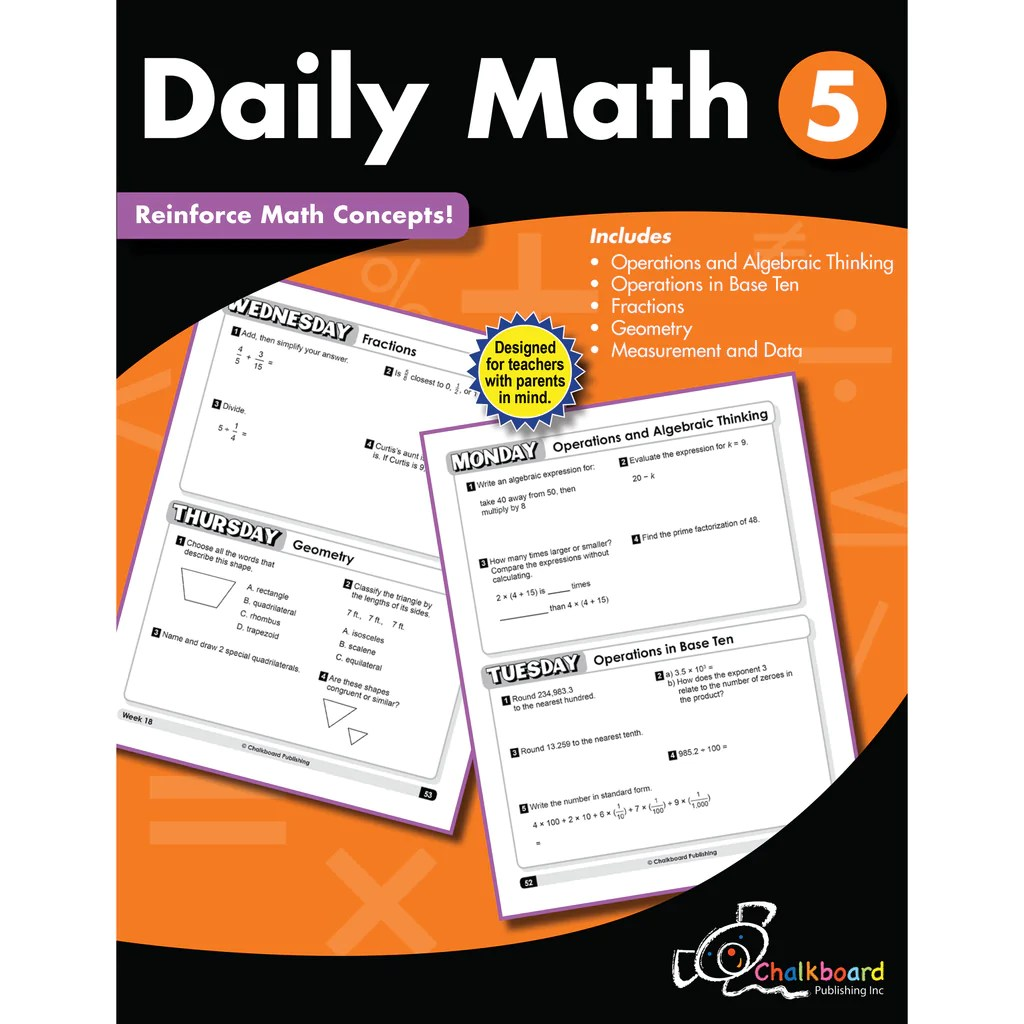 Creative Teaching Press Daily Math Workbook [ 1024 x 1024 Pixel ]