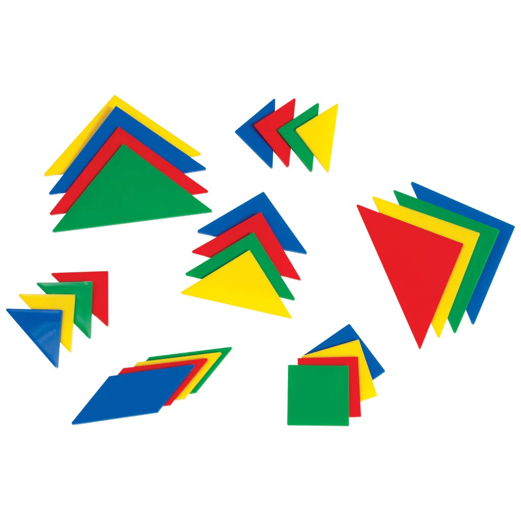hight resolution of Learning Advantage Tangrams - 4 Sets (28 Pieces)   CTU7712 – SupplyMe
