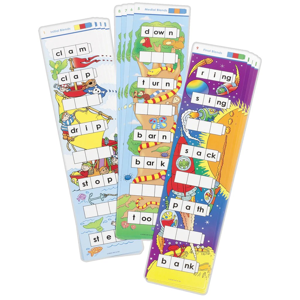 small resolution of Didax Unifix Word Ladders: Blends   DD-2865 – SupplyMe
