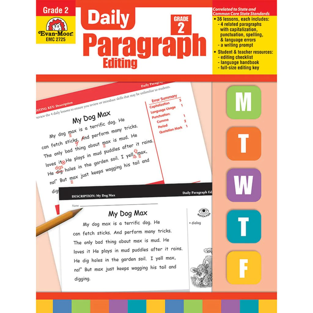 medium resolution of Evan-Moor Daily Paragraph Editing