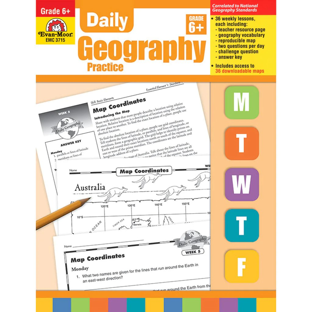 hight resolution of Evan-Moor Daily Geography Practice