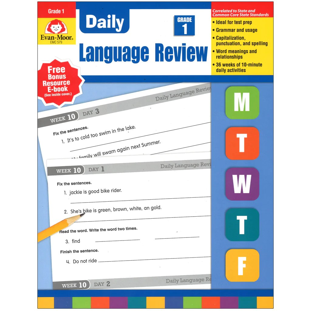 hight resolution of Evan-Moor Daily Language Review