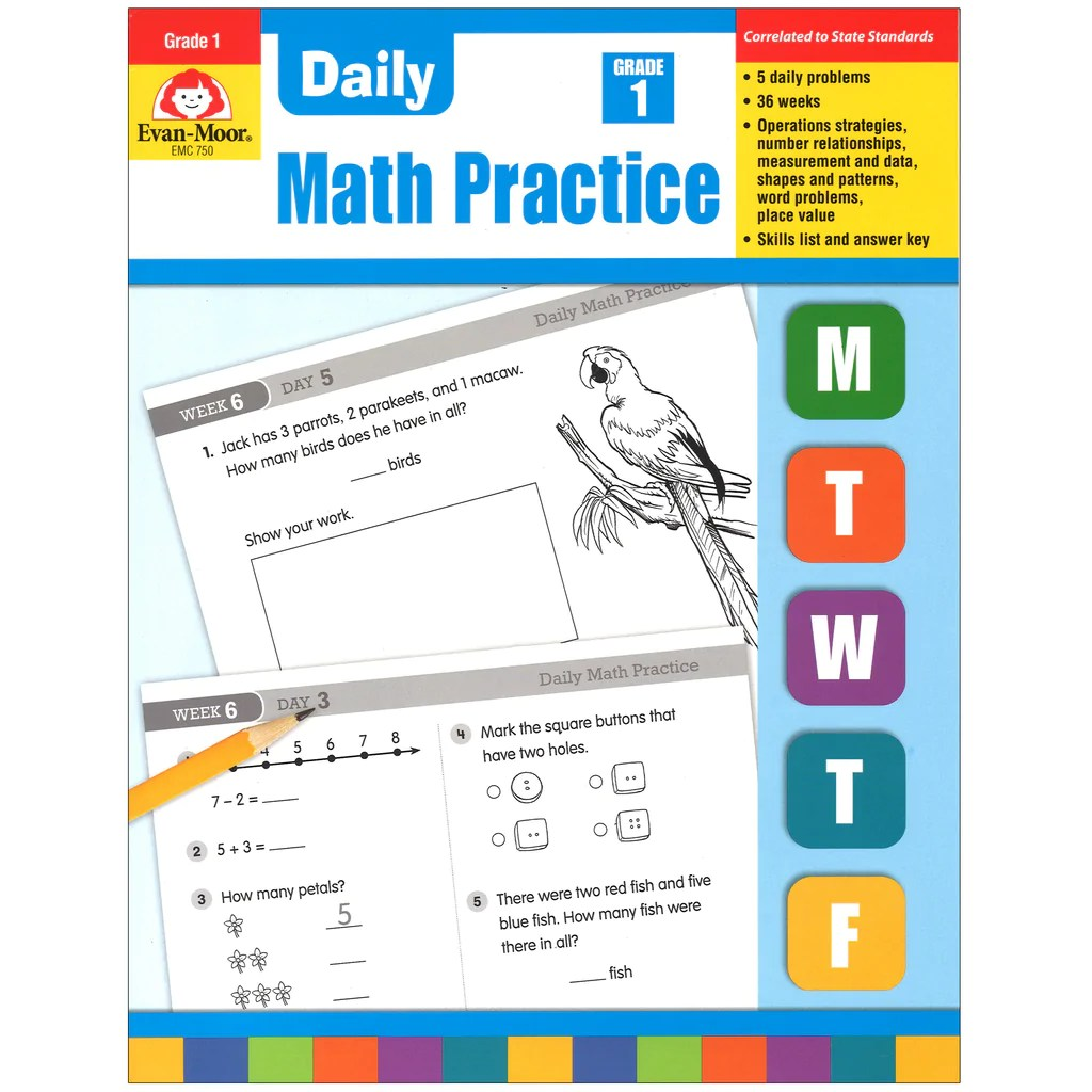 hight resolution of Evan-Moor Daily Math Practice