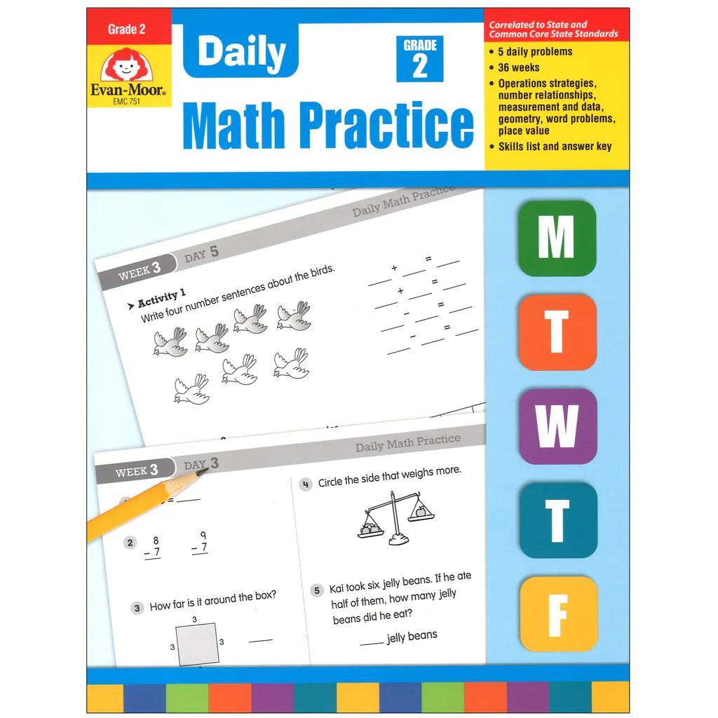 medium resolution of Evan-Moor Daily Math Practice