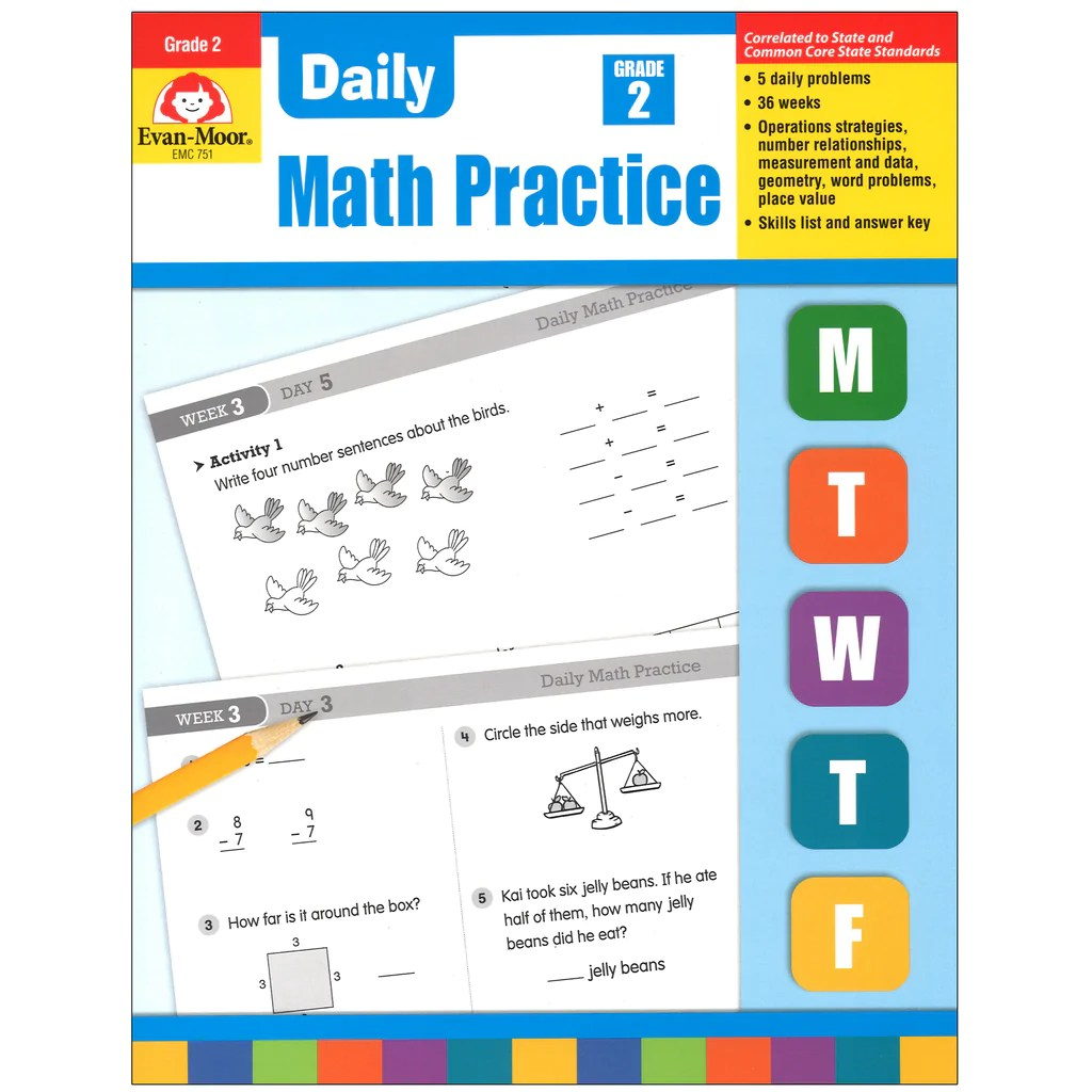 hight resolution of Evan-Moor Daily Math Practice