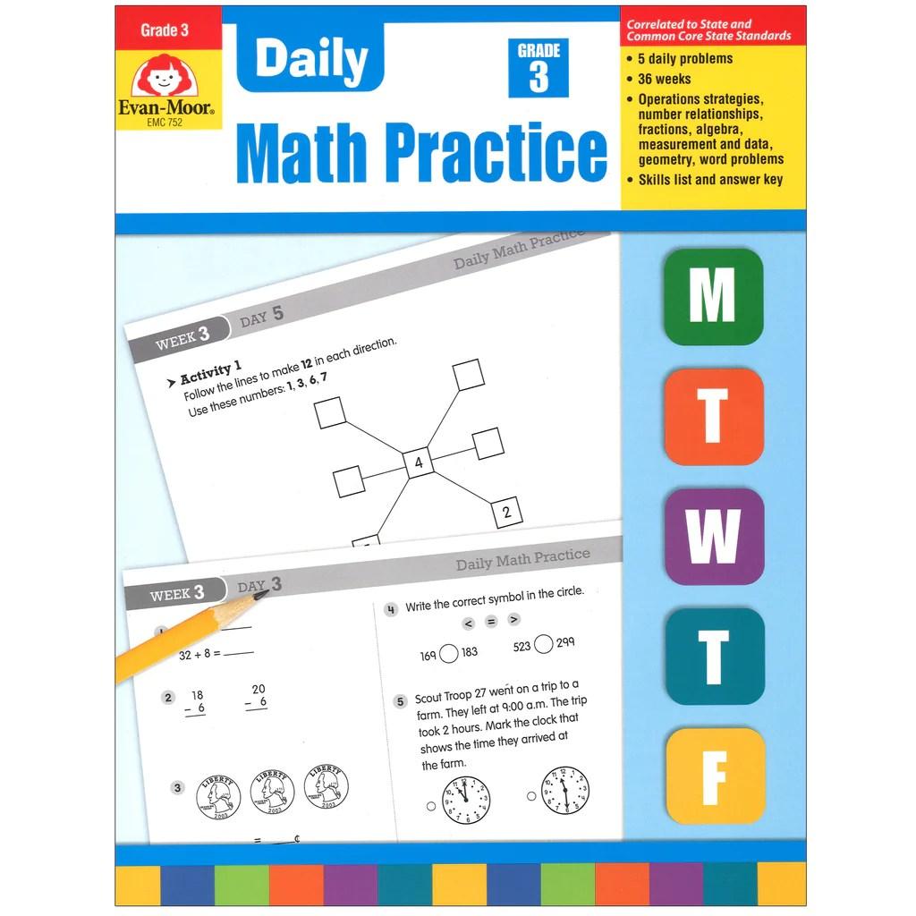Evan-Moor Daily Math Practice [ 1024 x 1024 Pixel ]