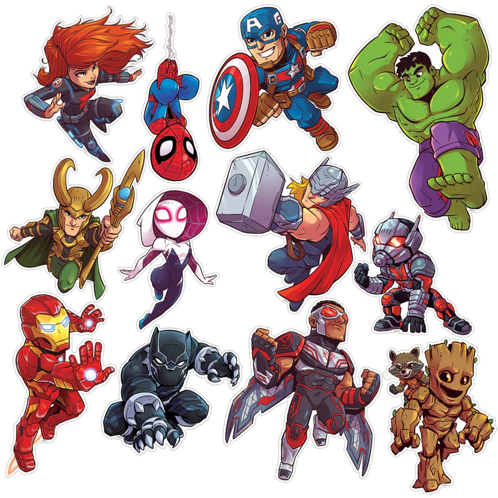 Eureka Marvel™ Super Hero Adventure 2-Sided Deco Kit   EU-840222 – SupplyMe [ 1024 x 1024 Pixel ]
