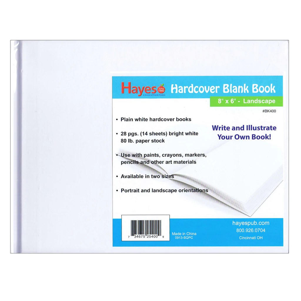 Hayes School Publishing Hardcover Blank Book [ 1024 x 1024 Pixel ]