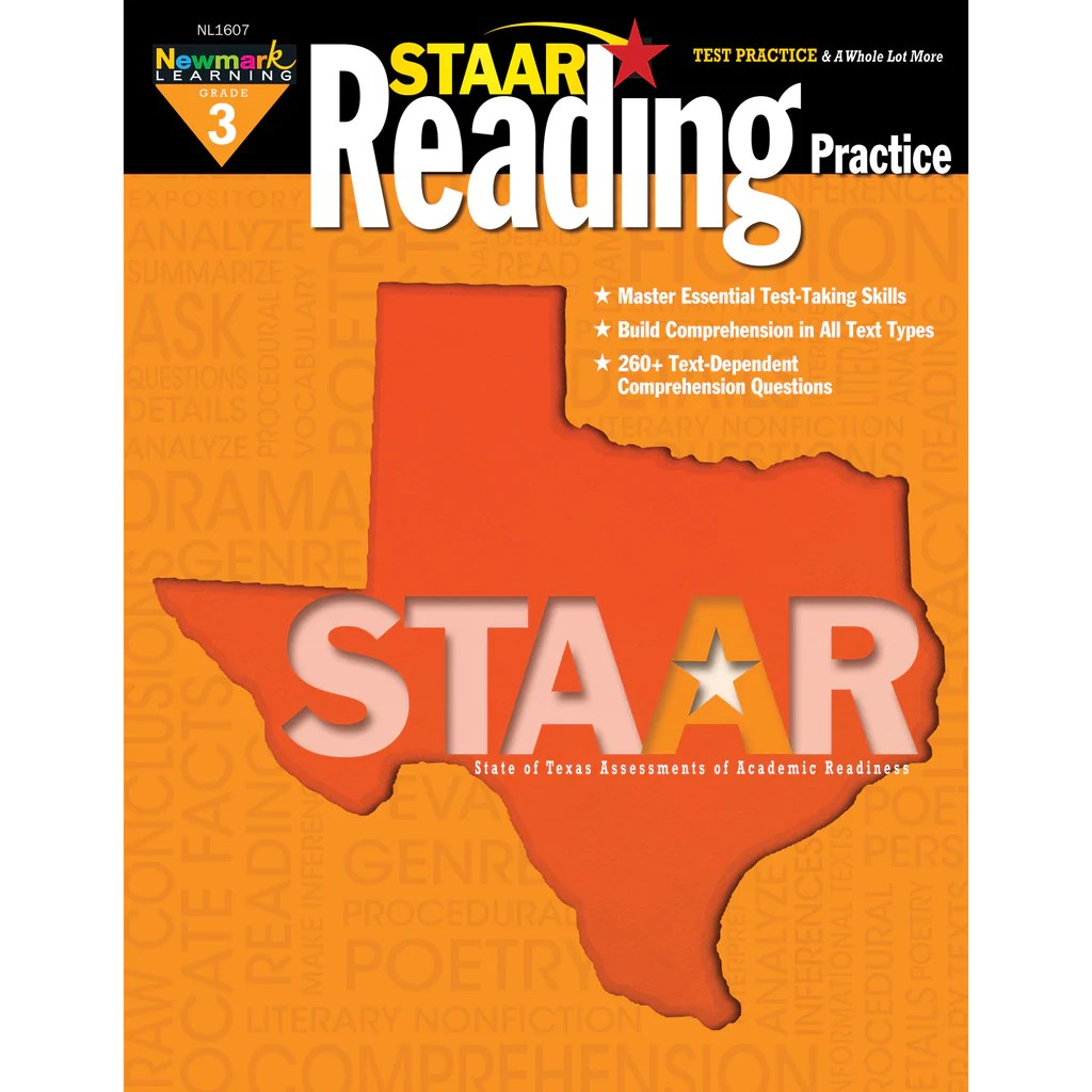 hight resolution of Newmark Learning STAAR Reading