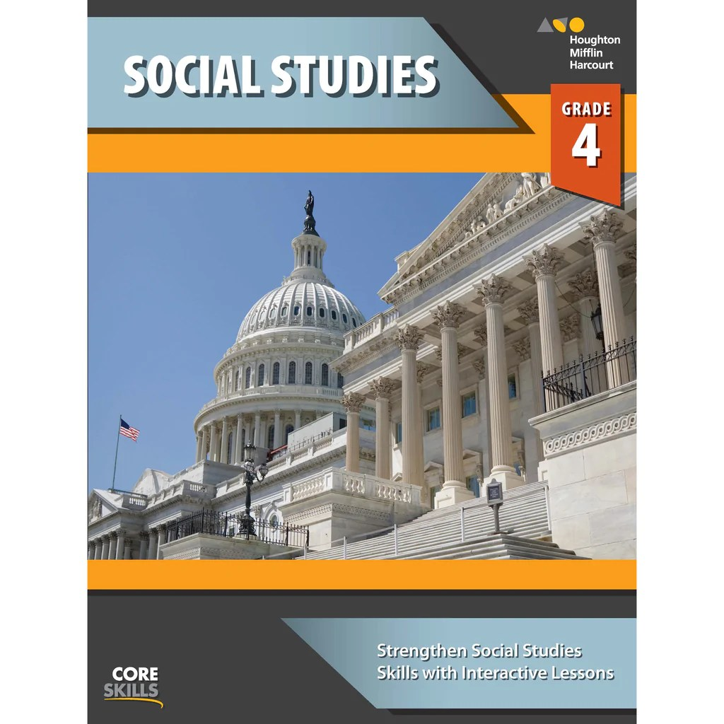 Houghton Mifflin Harcourt Core Skills: Social Studies Workbook [ 1024 x 1024 Pixel ]