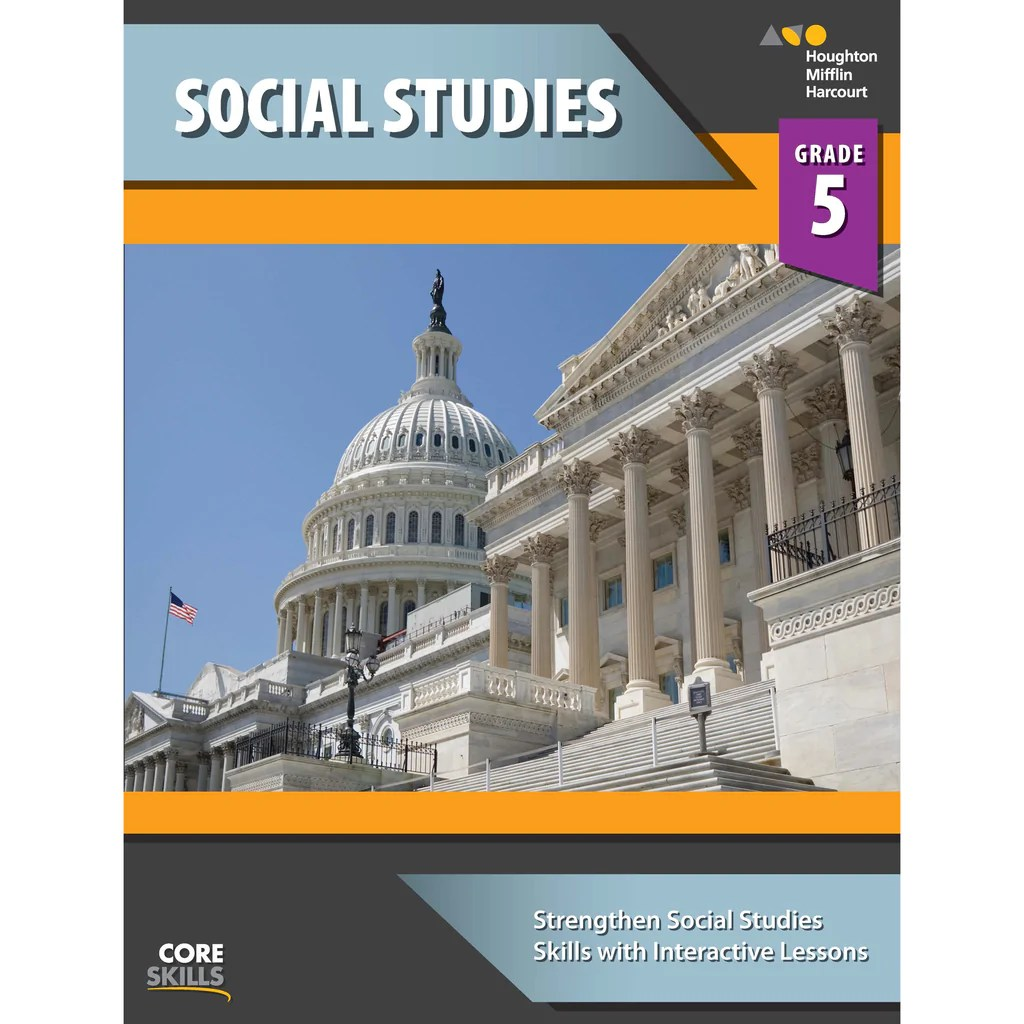 small resolution of Houghton Mifflin Harcourt Core Skills: Social Studies Workbook