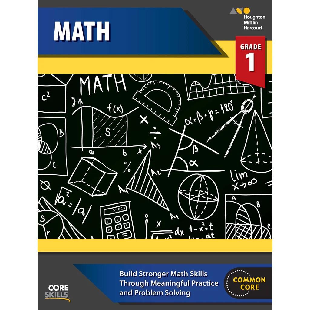 hight resolution of Houghton Mifflin Harcourt Core Skills: Mathematics Workbook