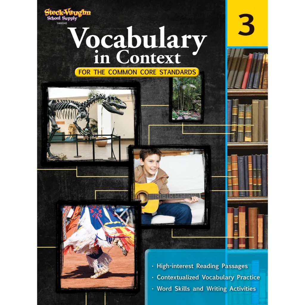 Houghton Mifflin Harcourt Vocabulary In Context For The Common Core  Standards [ 1024 x 1024 Pixel ]