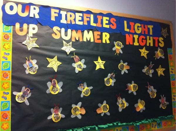 Summer Firefly Bulletin Board Idea  Craft for Kids  SupplyMe