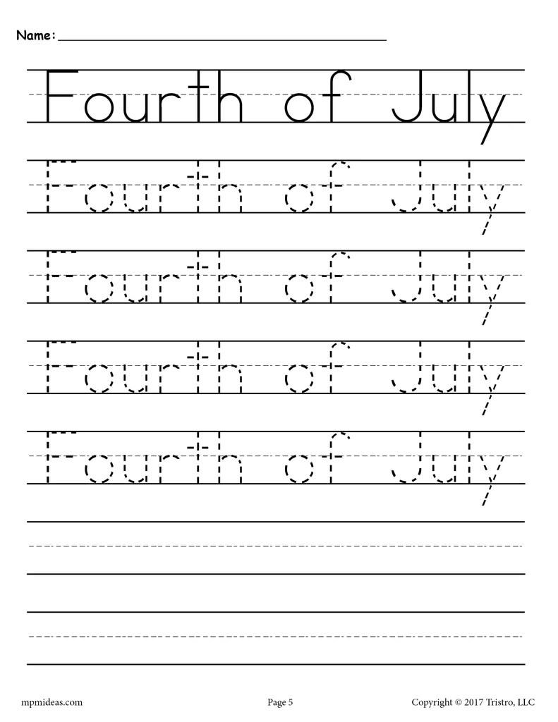 10 Handwriting Worksheets - Seasons and Holidays! – SupplyMe [ 1024 x 791 Pixel ]