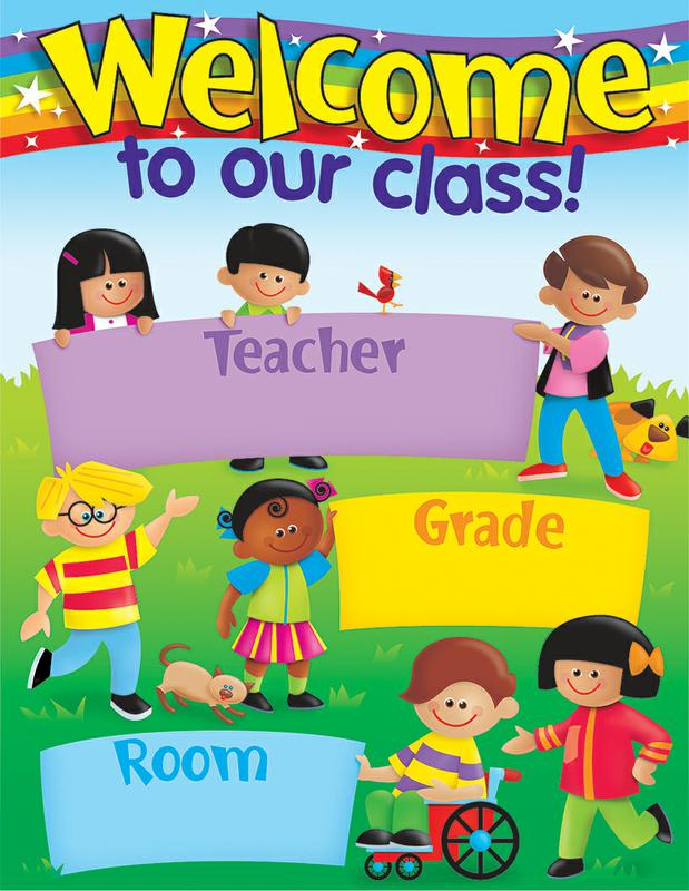 Welcome trend kids learning chart also enterprises  rh supplyme
