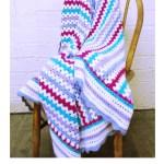Granny Stripe Blanket Crochet Kit And Pattern In Cygnet Yarn Deramores