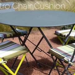 Fermob Bistro Chair Folding Song Cushion For Chairs  Bon Marché
