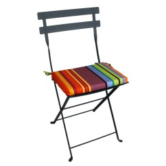 Bistro Chairs Outdoor Simple Office Chair Cushion For Fermob Bon Marche Bonmarche