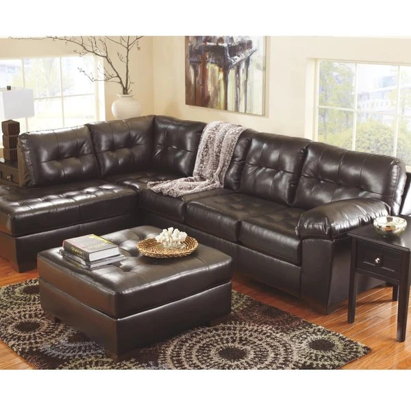 However, with a little ingenuity, you could have custom leather furniture in your home for a fraction of the cost. Edmonton Furniture Store   Grey Leather Looking Sofa - 201 ...