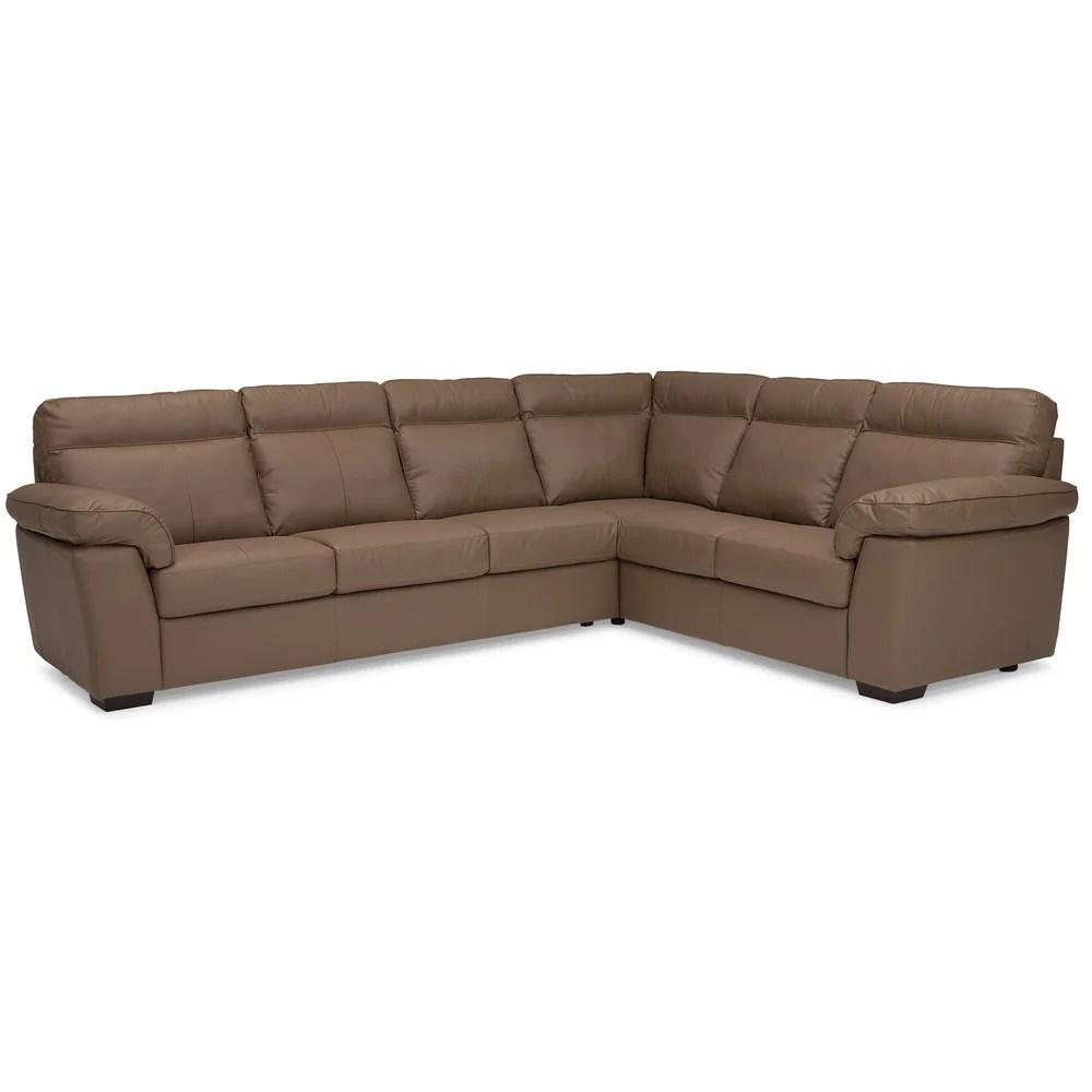 custom sectional sofa art van red leather edmonton furniture store canadian made ideal home palliser kingston