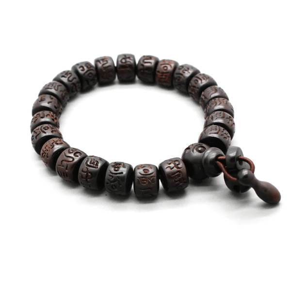 Peach Wood Bracelet kundalinispirit