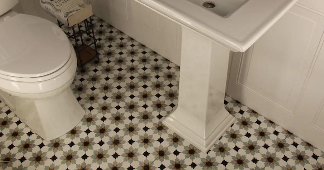 patterned cement tiles artisan tile shop