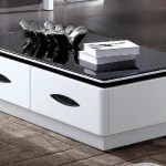 Stylish Black Marble Table Top Wooden Center Coffee Table My Aashis