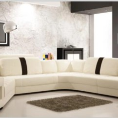 Modern Living Room Sofa Furniture Top Paint Colors For Rooms 2017 With Corner Leather Sofas U Shaped