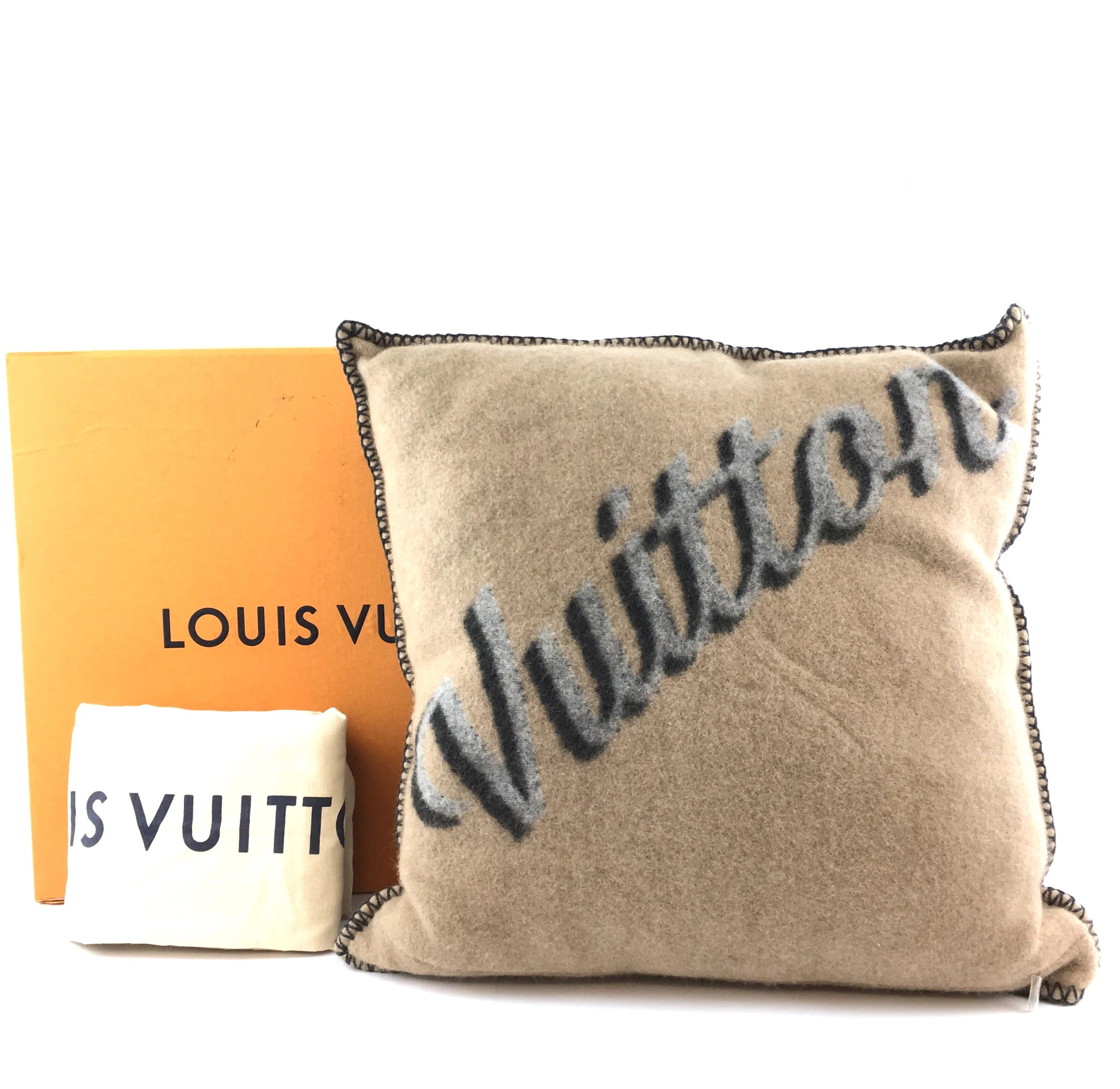 authentic louis vuitton gray wool