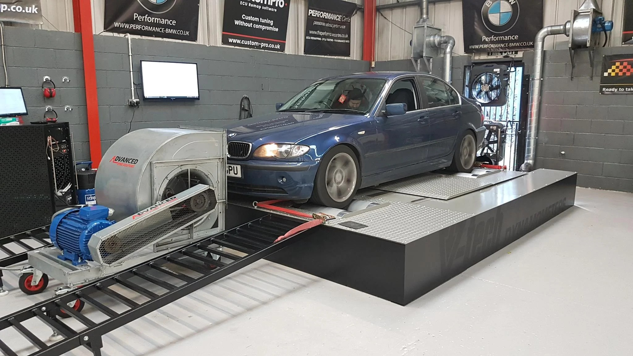 hight resolution of bmw e46 330d stage 1 remap