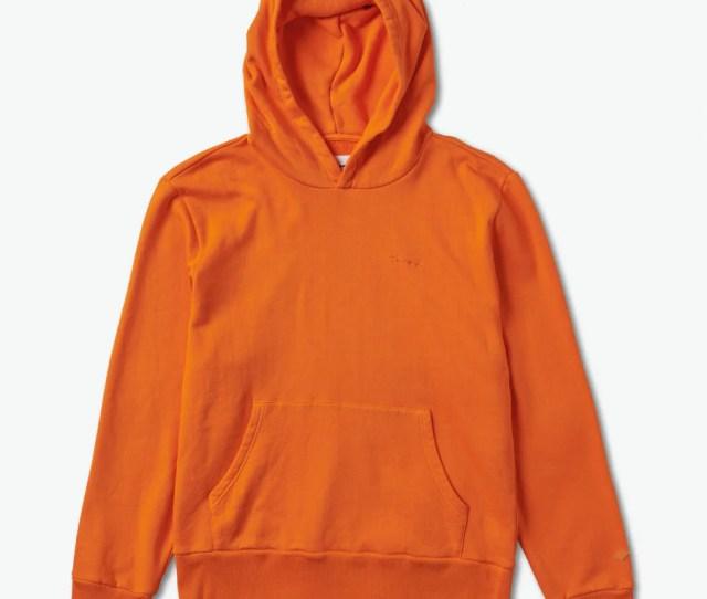 Brilliant Oversized Hoodie Orange