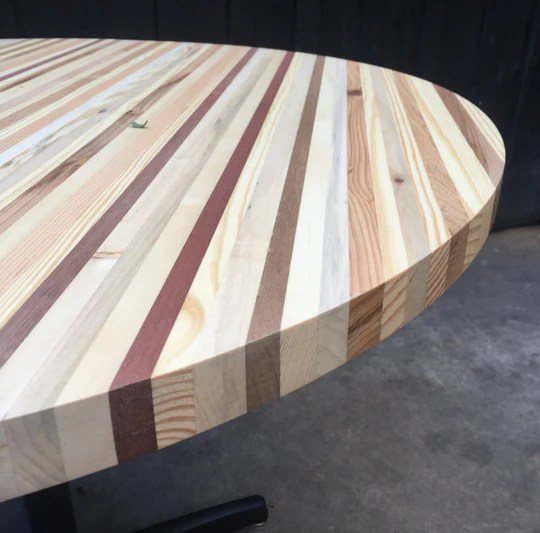 reclaimed pallet wood tabletops indoor use made to order
