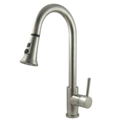 Pull Out Spray Kitchen Faucet Aid Standing Mixer Down Faucets Concord Rustic Sinks Single Handle