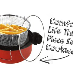 3 Piece Kitchen Set Shoes For Idrop 24cm Multi Function Cookware Steamer 1set X Cooker Fryer