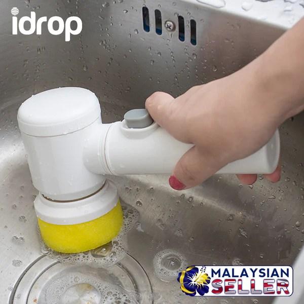 3 in 1 kitchen aid appliance idrop multifunction magic cleaning brush scrub