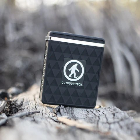 The Kodiak Plus Ultra is a waterproof, dust & dirt resistant, rugged power bank for your electronic devices. It packs a 12,800mAh rechargeable battery. Charge your phone or almost any other small electronics via the USB C or standard USB Quick Charge ports. The built-in 100 lumen LED light system has a hi-beam, low-beam, and SOS/strobe mode to help illuminate pretty much any situation.