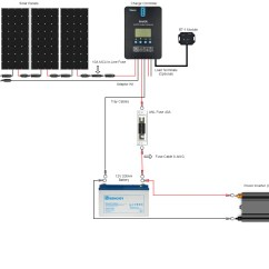 Wiring Diagram 12 Volt Solar System Neff Cooker Hood Renogy New 400 Watt Premium Kit  Solartech