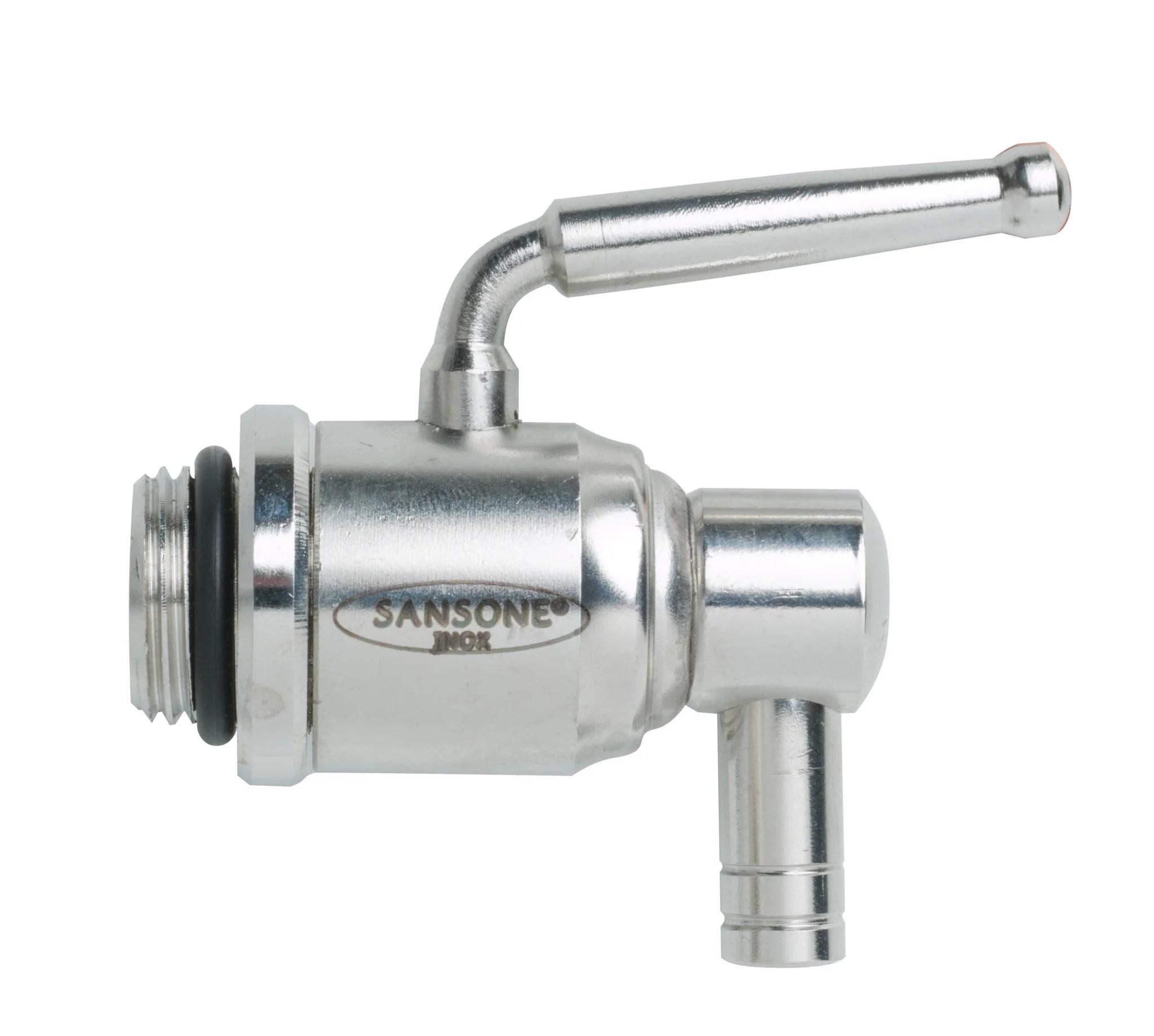 stainless steel spigot for oil drum bulk and co
