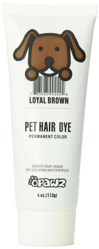 pet dog hair dye gel colors